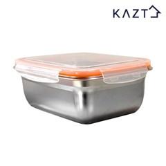 냉장고정리 스텐 반찬 밀폐용기 4호 1800ml 1개