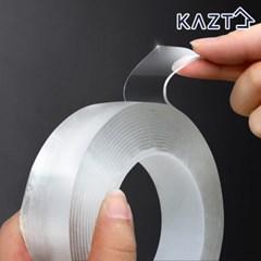 만능 투명 실리콘 테이프 일반형(1mmX3cmX5m) 1개