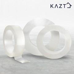 만능 투명 실리콘 테이프 일반형(1mmX3cmX3m) 1+1