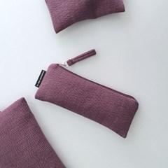 다크 퍼플 필통(Dark purple pencil case)