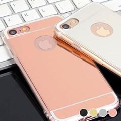 아이폰12프로 심플 미러 슬림 커버 젤리 케이스 P074_(3285647)
