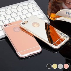 아이폰12프로맥스 심플 미러 슬림 젤리 케이스 P074_(3285646)