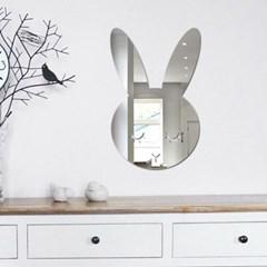 아크릴 거울 - 토끼/구름