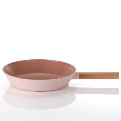 네오플램 핑크 우드 IH(인덕션 가능) 프라이팬 28cm
