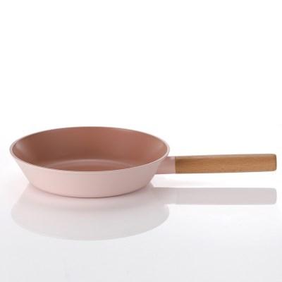 네오플램 핑크 우드 IH(인덕션 가능) 프라이팬 24cm
