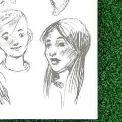 [이부] 드로잉북 4편 사람 /7세이상 그림그리기