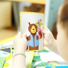 [이부] 동물모험 스토리텔링 카드 / 3세이상