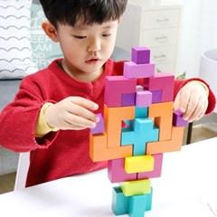 [공간27] 패턴플레이 3D 퍼즐게임 / 5세이상