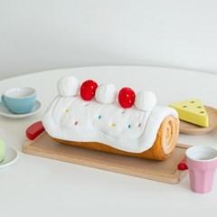 바잇미 롤케이크 노즈워크 매트 장난감 (노즈워크/바스락)