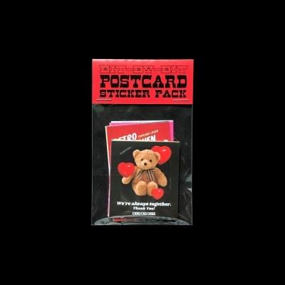 Postcard Sticker Pack