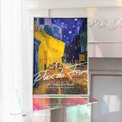 Vincent 반고흐 캔버스 포스터 6종 밤의 카페테라스