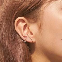 14K 스완 진주 피어싱 귀걸이 [한쪽][ 2 Size ]