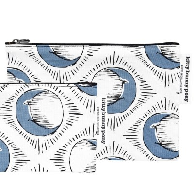 Sun & Blue Moon Pouch by Tool Press