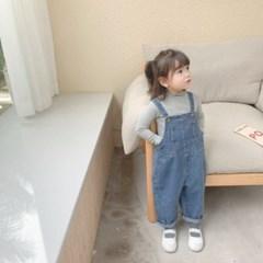 돌핀웨일 노잉데님멜빵팬츠(70~130cm)
