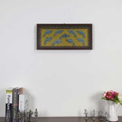 Home gallery 구어도관액자 청동색 24x52.5cm