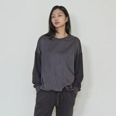 terry tee shirts (dark grey)