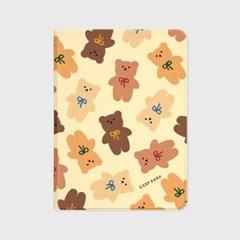 Dot ribbon bear-ivory(아이패드-커버)_(1646206)