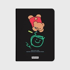 Doodle bear-black(아이패드-커버)_(1646214)