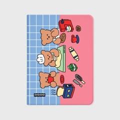 Cooking nini-pink/blue(아이패드-커버)_(1646215)
