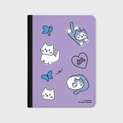 Awesome cat-purple(아이패드-커버)_(1646220)