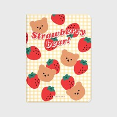 Big strawberry bear-ivory(아이패드-커버)_(1646221)