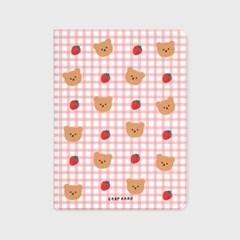 Dot strawberry check-pink(아이패드-커버)_(1646224)