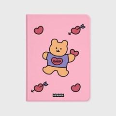 Bear heart-pink(아이패드-커버)_(1646240)