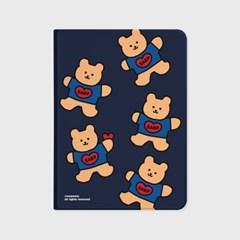 Bear heart-navy(아이패드-커버)_(1646242)