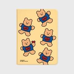 Bear heart-creamyellow(아이패드-커버)_(1646243)