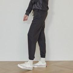 terry jogger pants (dark grey)