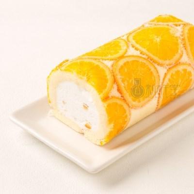 [SHINKINEDO] 신키네도 오렌지 밀크 롤 크림 케이크