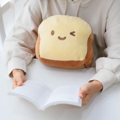 코튼푸드 식빵쿠션베개 37cm