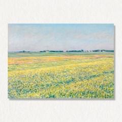 구스타브 칼리보트 yellow fields 명화 캔버스액자