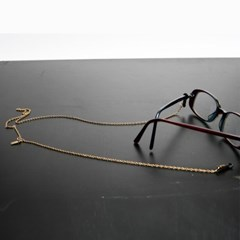 Simple glasses chain (gold)