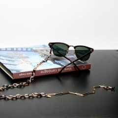 Acetate glasses chain (reo ivory)
