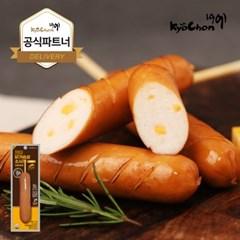 [교촌] 닭가슴살 스모크소시지 (치즈) 70g 1+1