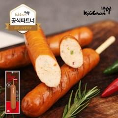 [교촌] 닭가슴살 스모크소시지 (청양고추) 70g 1+1