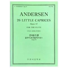 안데르센 플루트26리틀카프리스(Op.37)