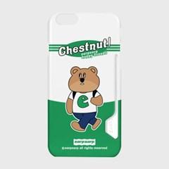 Hello chestnut-white/green(카드수납케이스)_(1667794)