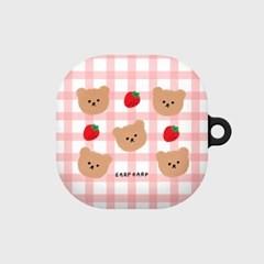 Dot strawberry check-pink(buds live hard)_(1667569)