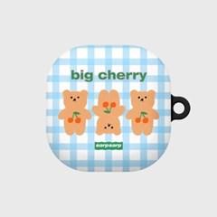 Three cherry big bear-sky blue(buds live hard)_(1667563)