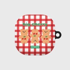 Three cherry big bear-red(buds live hard)_(1667562)