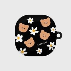 Dot flower bear-black(buds live hard)_(1667561)