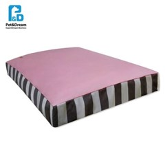 대형견 포근한 사각쿠션 핑크