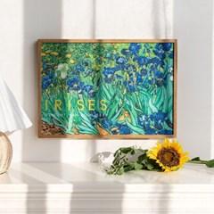 Vincent 반고흐 캔버스 포스터 6종 붓꽃