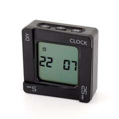 LED 다용도 디지털 쿠킹 타이머 알람 시계 GT007-BK