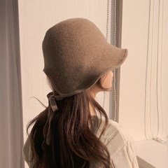 보넷 버킷햇 울 니트 와이어 벙거지 모자 5color