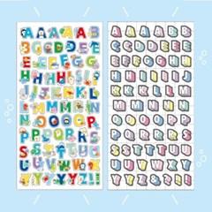 마인드웨이브 MOJI COLLECTION 알파벳 문자 스티커