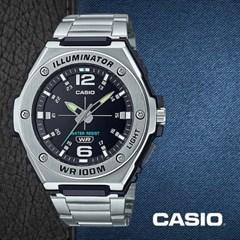 CASIO 카시오 MWA-100HD-1A 남성시계 메탈밴드 손목시계