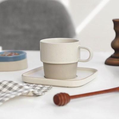 리베 투톤 커피잔 세트 220ml 3color 택1